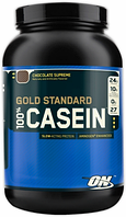 Казеин 100%, Casein Gold Standard, Optimum Nutrition, 900г