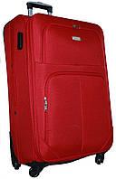 Чемодан сумка Jemis 4 колеса набор 3 штуки красный