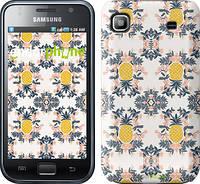 "Чехол на Samsung Galaxy S i9000 Ананас v2 ""3035c-77"""