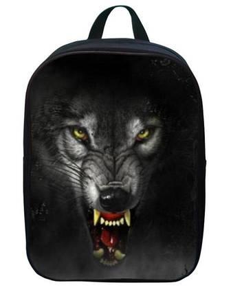 Не большие рюкзаки с принтом волк, фото 2