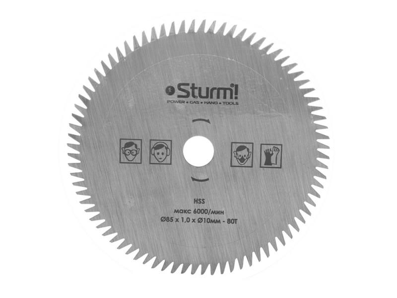 CS5045MS-85-10-1.0-80T Диск 85мм Sturm