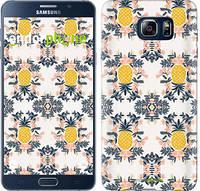 "Чехол на Samsung Galaxy Note 5 N920C Ананас v2 ""3035u-127"""