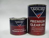 SOLID Лак акриловый PREMIUM CLEAR HS c отвердителем