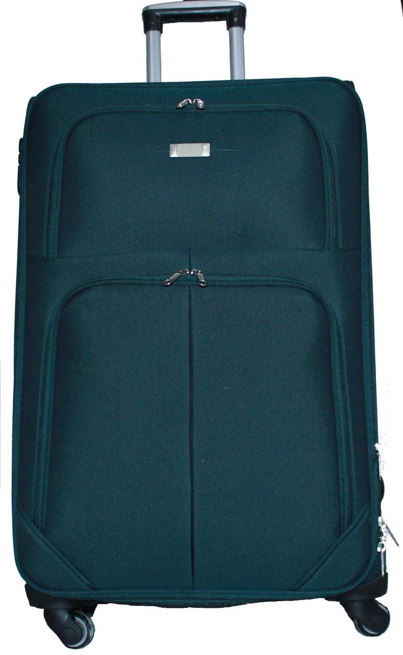 Чемодан сумка Wings 4 колеса набор 3 штуки зеленый