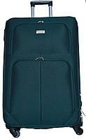 Чемодан сумка Wings 4 колеса набор 3 штуки зеленый, фото 1
