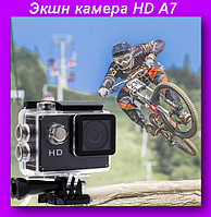 Экшн камера A7,Экшн камера HD,Водонепроницаема камера