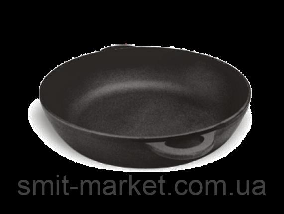 Сковорода - жаровня (чугунная) без крышки 280мм, фото 2
