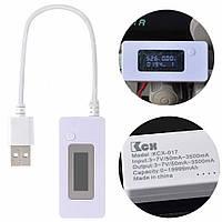 Тестер измерения напряжения, силы тока и ёмкости аккумуляторов KCX-017