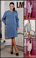 50,52,54,56 размер Красивое женское демисезонное пальто Таня батал,большого размера теплое шерстяное свободное