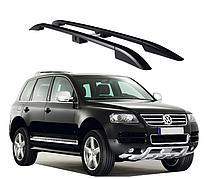 Рейлинги Volkswagen Touareg 2003-2011 с пластиковым креплением
