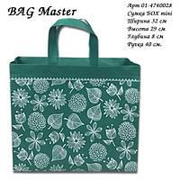 "Эко сумка BOX (01) mini ""Ботаника"". Арт. 01-4740028"