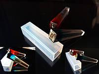 Молд для призмовидной подвески, полупрозрачный промышленный силикон