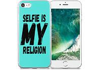 Чохол Utty B&Z PC iPhone 7/8 Selfie Is My Religion