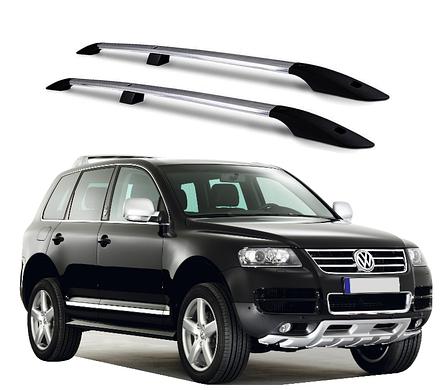 Рейлинги Volkswagen Touareg 2003-2011 с металлическим креплением