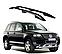 Рейлинги Volkswagen Touareg 2003-2011 с металлическим креплением , фото 4
