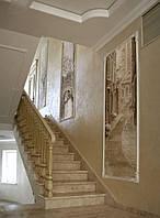 Художественная роспись стен и потолков. Графика в 3D.