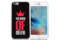 Чохол Utty B&Z PC iPhone 7/8 Plus Queen Of Selfie