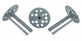 Дюбель для крепления термоизоляции с пластиковым гвоздем (KI)