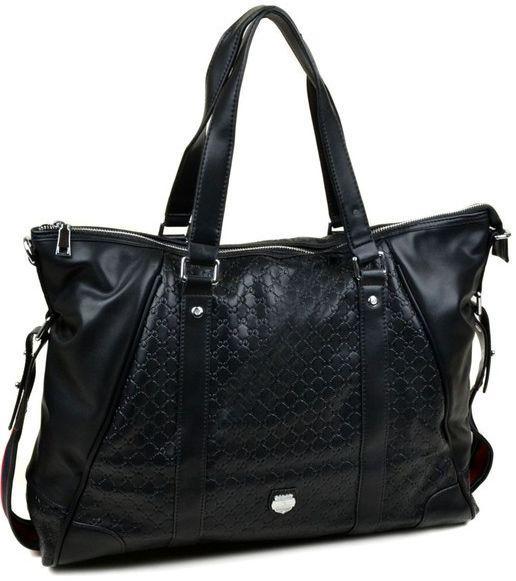 Мужская сумка из искусственной кожи Bretton 500075H black черная