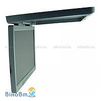 Автомобильный потолочный монитор Gate SQ-2201 Gray с USB/SD и ТВ-тюнером, цвет серый