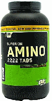Аминокислоты, OPTIMUM NUTRITION, Superior Amino 2222, 320 tab