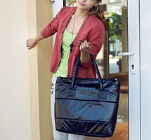 Большая виниловая сумка баула, фото 3