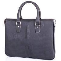 Мужской кожаный портфель с отделением для ноутбука tofionno (ТОФИОННО) tu8801-2-grey