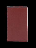 Виниловая папка для счета официанта panta plast 0300-0028-10 бордовая