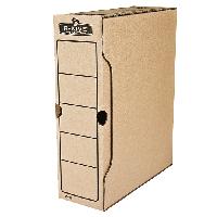 """Бокс для архивации r-kive basics 100мм, 850 листов А4, цвет """"крафт"""" f.91601"""