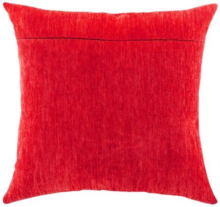 Оборот для подушки Алый