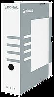 Бокс для архивации документов, 80мм, серый 7660301pl-13