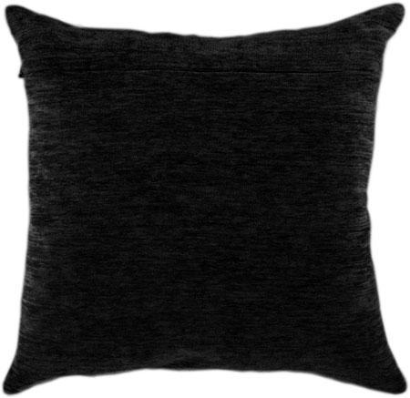 Оборот для подушки Чёрный