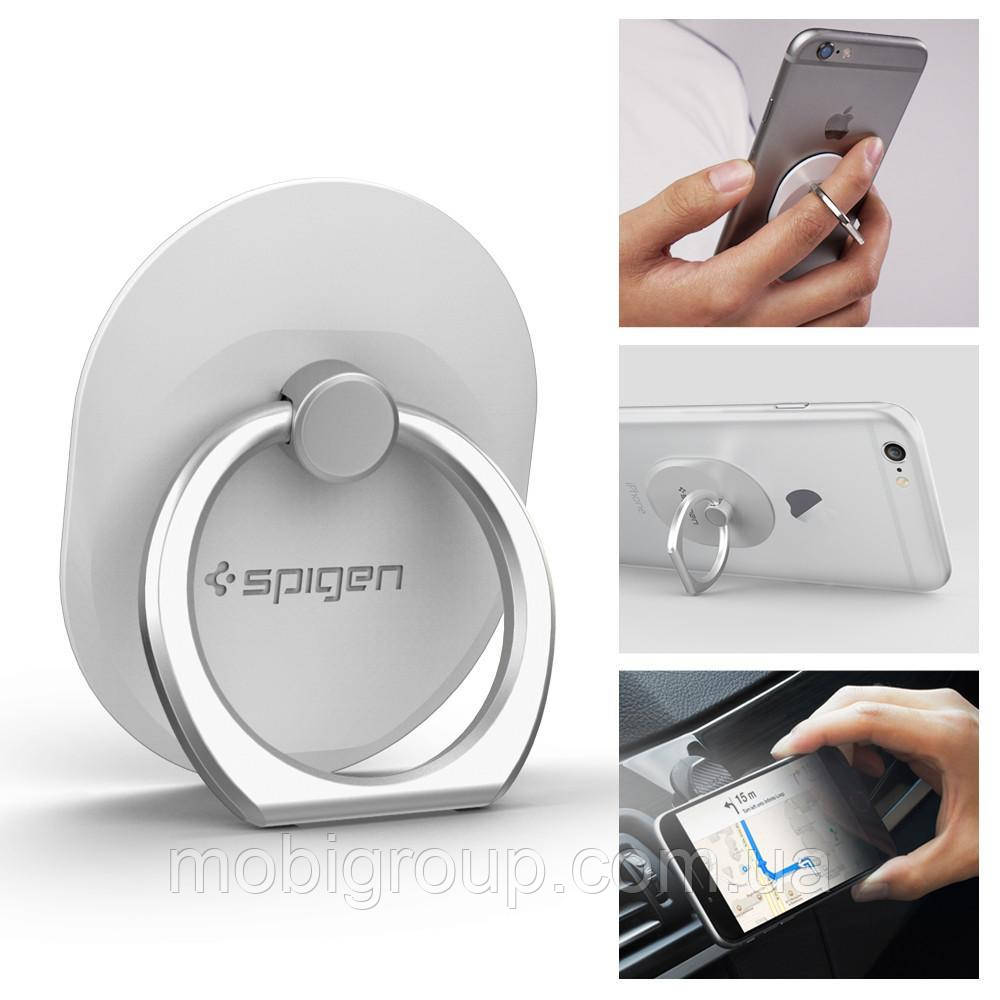 Держатель Spigen Style Ring для телефона, White