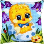 Подушки для вишивання хрестом Тільки з яйця (хлопчик)