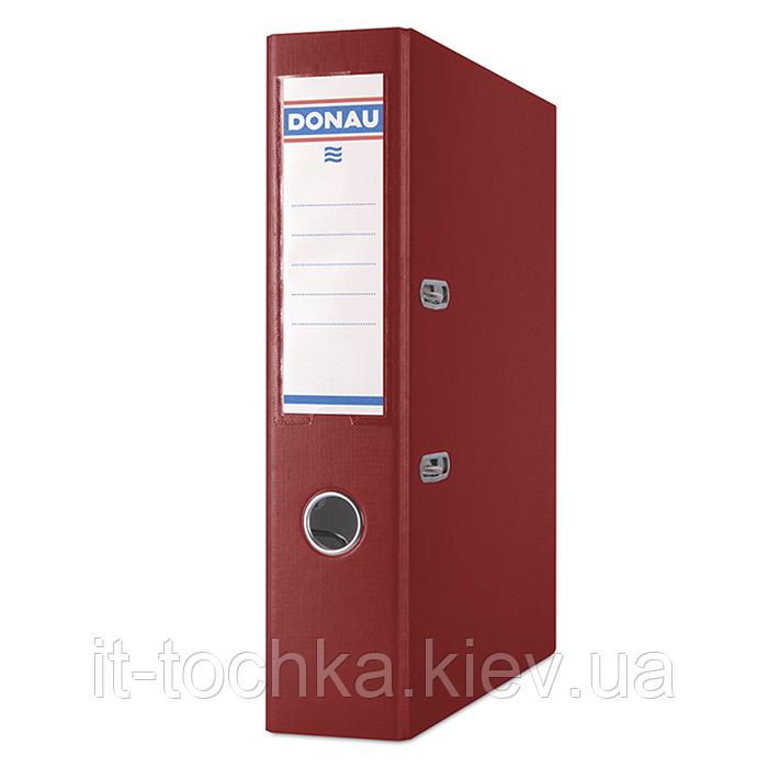 Регистратор premium А4, ширина торца 75 мм, бордовый 3975001pl-05