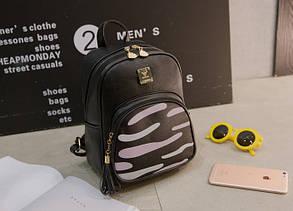 Городской рюкзак с зеброй на кармане, фото 2