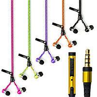 Вакуумные наушники с микрофоном Zipper S-10, фото 1