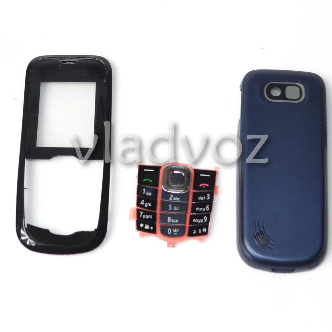 Корпус для Nokia 2600c чёрный без средней части