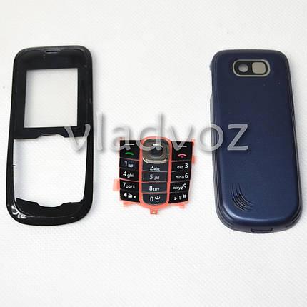 Корпус для Nokia 2600c чёрный без средней части, фото 2