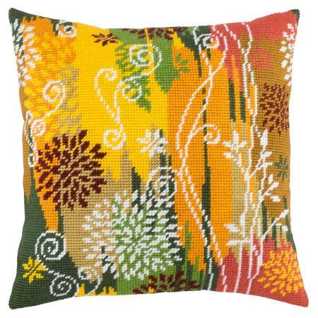 Подушки для вышивания полукрестом Осенний день