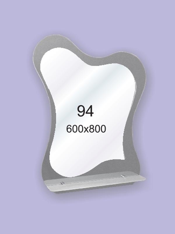 Зеркало для ванной комнаты влагостойкое ( настенное зеркало) 600х800мм Ф94