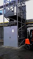 Шахтный электрический подъёмник (лифт) приставной на 1 тонну. , фото 3