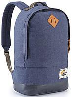 Синий городской рюкзак Lowe Alpine Guide 25 Twighllight, LA FDP-60-TW-25, хлопок, 32х50х20, 25л.