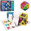 Детский развивающий игровой набор Конструктор магнитныйLQ610 -40дет., в коробке