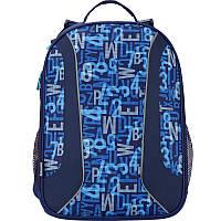 Детский каркасный рюкзак  KITE Alphabet №K17-703M-3 для мальчика