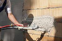 Быстрая механизированная машинная штукатурка стен