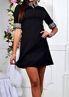 Платье женское (костюмка креп), фото 1