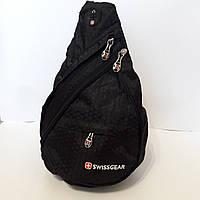 Swissgear на одно плечо black