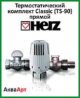 """HERZ Термостатический комплект Classic (TS-90) прямой 1/2"""""""