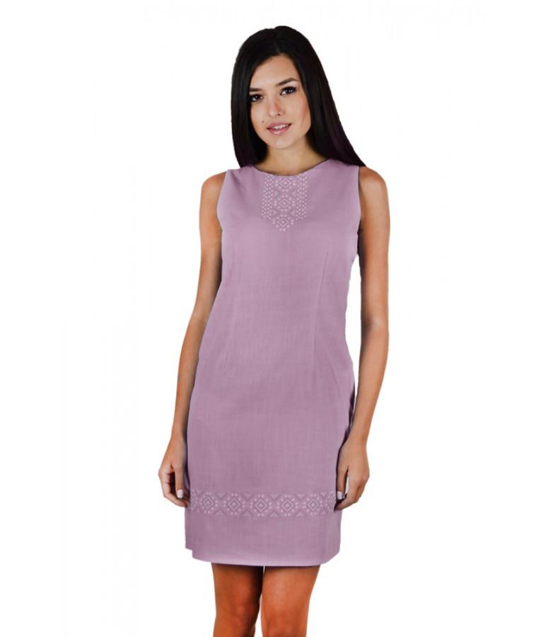Світло - рожева сукня. Жіночі сукні. Вишиті жіночі сукні. Интернет магазин жіночого одягу.